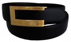 exemple de ceinture ! Si costume noir ! Ceinture noire et dorée