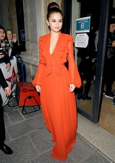 holyfuckselenita: Selena Gomez arriving at the Virgin Radio...