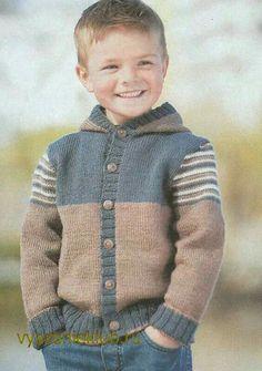 Ravelry: Sofiecat's Hooded Baby Jacket – maallure Baby Knitting Patterns, Crochet Vest Pattern, Knitting For Kids, Knitting Designs, Knit Baby Sweaters, Boys Sweaters, Baby Boy Cardigan, Sweatshirts, Reverse Braid