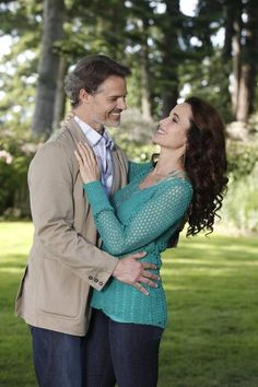 Cedar Cove on Hallmark Channel - Dylan Neal and Andie MacDowell