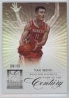 Yao Ming #8/99 (Basketball Card) 2012-13 Elite Series Turn of the Century #3 -- Awesome products selected by Anna Churchill