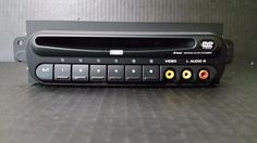 02-07 TOWN AND COUNTRY CARAVAN 6 DISC CD / DVD CHANGER PLAYER P05094033AA #MOPARCHRYSLERDODGEPLYMOUTH