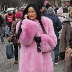 Cardi B, Fur Fashion, Fox Fur, Purple, Pink, Glamour, Instagram, Sexy, Furs