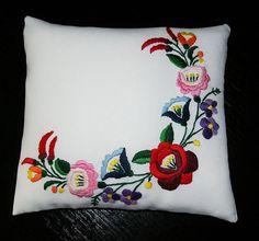 Hungarian Folk Motif Kalocsa patterned Unique Special Artisan Handmade…