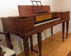 SQUARE PIANOS (QUERPIANOS)  HISTORY