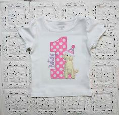 Items similar to Lab Puppy Dog First Second Third Birthday Shirt- Boys or Girls Colors Avail- Free Personalization on Etsy