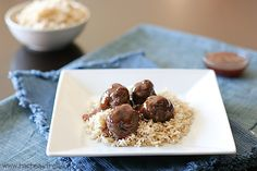 Sweet and Sour Meatballs - Taste and Tell