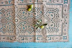 Vintage Table Runner Doily Table Mat Greek by BelladonaVintage