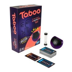 Taboo Game : Target Taboo Board Game, Taboo Game, V Games, Activity Games, Card Games, Family Game Night, Family Games, Shocking Games, Games For Ladies Night