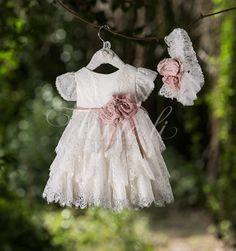 Baby Girl Dresses, Girl Outfits, Flower Girl Dresses, 1st Birthday Outfit Girl, White Baby Dress, Baby Girl Baptism, Dress Patterns, Christening, Kids Fashion