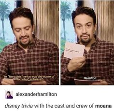Disney/Broadway fusion. I'm expecting this musical any day now