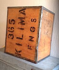 Vintage Old Tea Trunk Chest Boxes,laundry Bin,Storage Bedside Table Wooden Crate
