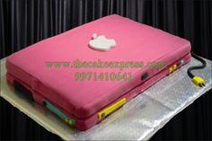 APPLE LAPTOP CAKE