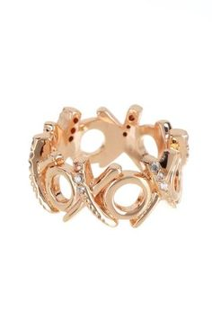kisses and hugs rings <3 #xoxo ... Soooo Me .. Love it