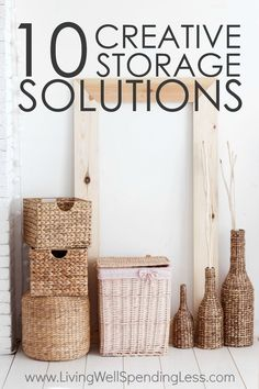 10 Creative Storage Solutions