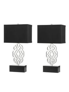 Grill Table Lamps (Set of 2)