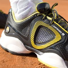 Artengo TS910 Shoes : Rublast rubber outsole ; durable injection moulded thermoplastic on upper. #Artengo #Tennis