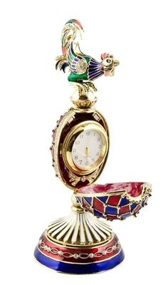 Faberge Inspired Rooster Egg - 3