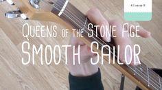In deze video leer je de gitaarpartij van Josh Homme, van het nummer Smooth…