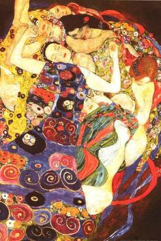 Gustav Klimt The Virgins Poster 24x36 – BananaRoad