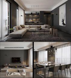 Home Designing — (via Luxury Styles: 6 Dark and Daring Interiors)