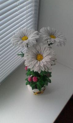 Деревья и цветы из бисера. Продажа.   VK