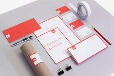 Les Danois de Your Local Studio signent cette identité visuelle pour Fabrikken, une fabrique spécialisée dans l'art et le design, basée à Copenhague.