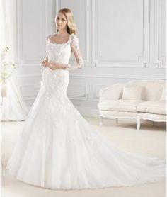 Hala Krajka Elegantní & luxusní Svatební šaty 2015