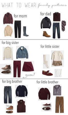 what to wear: family pictures. - corilynn