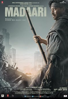 Madaari Movie by Irrfan Khan brand new latest Second (2nd) Official Poster Look Out
