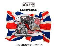 6c01b84b4 Converse All Star Sex Pistols na Loja Virus 41