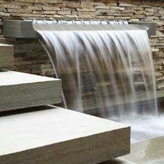 Fuente moderna