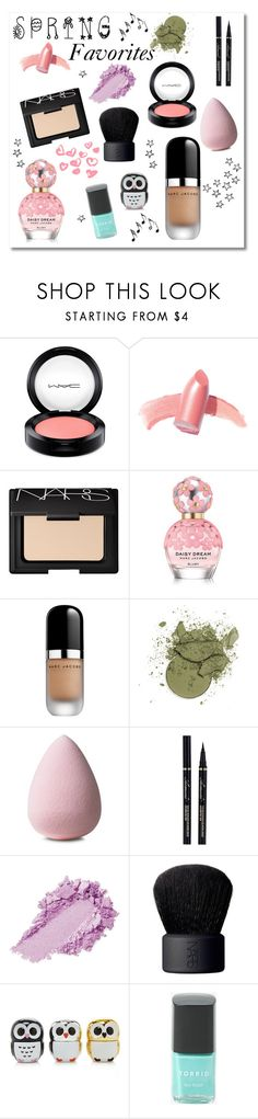 """My March Beauty Faves"" by bellaeve ❤ liked on Polyvore featuring beauty, MAC Cosmetics, Elizabeth Arden, NARS Cosmetics, Marc Jacobs, Forever 21, Torrid, Music Notes, Spring and polyvorecommunity"
