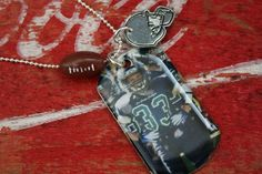 DIY ... Sports Photo Dog Tag Necklace Jewelry Photograph Dogtag for Moms Girlfriends custom
