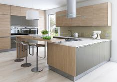 linear kitchen - Google Search