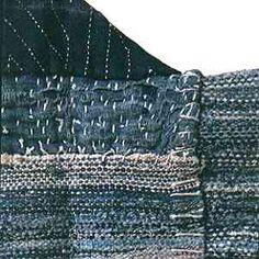 sakiori  (split and weave)