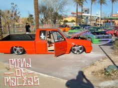 world famous mini trucks   It's nothing, Just No Regrets and The Time Machine....