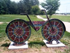 Yes!   http://steveadamsomaha.tripod.com/P_LinBicycles/B_Lphotos/Bottle_Cap_Bike_L.jpg