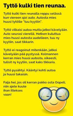 tytto_kulki_tien_reunaa_2 Texts, Haha, Humor, Funny, Birds, Random, Ha Ha, Humour, Bird
