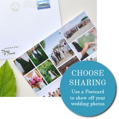 Postcards - Continue Your Travel Themed Wedding Stationery in Style and share your wedding photos with guests at the same time as saying thank you!