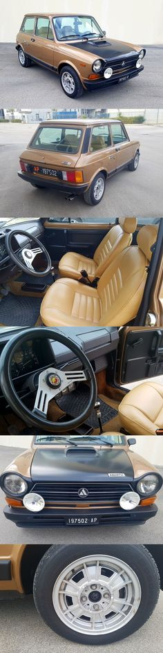 1978 Autobianch A112 ends  2/3/17 Catawiki / Abarth 70hp / bronze brown black / 17-375