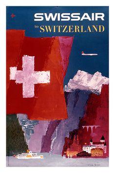 Switzerland Travel Poster