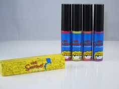 MAC Simpsons Lipglass #macandmarge #makeup #thesimpsons