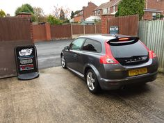 2008 Volvo C30 in this afternoon for 18% Carbon tints to the rear.
