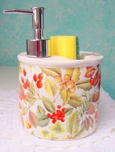 Detail položky | Dalimark Verona, Soap Dispenser, Detail, Handmade, Soap Dispenser Pump, Hand Made, Handarbeit