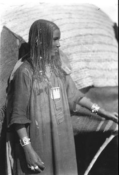The Beja people are believed to have originally been a berber tribe and are genetically linked to Tuaregs and other amazigh tribes. African Culture, African History, African Tribes, African Americans, East Africa, North Africa, Portraits, African Hairstyles, Black People