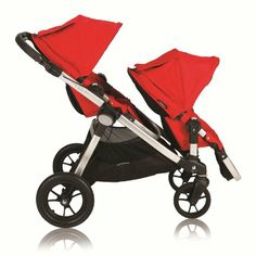 Amazon.com: Baby Jogger City Select Stroller with 2nd Seat Ruby: Baby