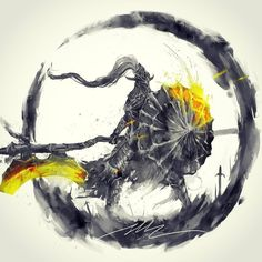 """Soulstober Day """" The Dragonslayer Armour, controlled by the Pilgrim Butterfly, lost its master long ago, but still remembers their sporting hunts """" Dragonslayer Armor Medieval Fantasy, Dark Fantasy, Fantasy Art, Dark Souls Art, Dark Art, Dark Souls Characters, Soul Saga, Soul Tattoo, Game Art"""