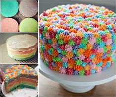 Easy Frosted Cake