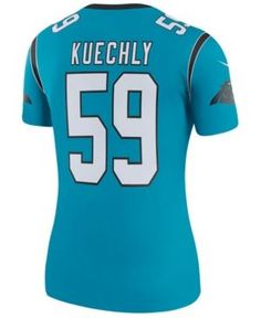Nike Women s Luke Kuechly Carolina Panthers Color Rush Legend Jersey - Blue Carolina  Panthers Colors 21336a43e